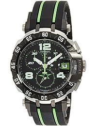 Tissot Herren-Armbanduhr Armband Kautschuk Gehäuse Edelstahl Schweizer Quarz Chronograph T0924172705701