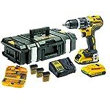 DEWALT Akku-Schlagbohrschrauber, 1 Stück, schwarz  /  gelb, DCK796D2KX-QW