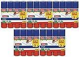 20x tesa Klebestift, rund, ökologisch, 3+1 gratis, 20g | 5x4 Sticks (5, 20g |...