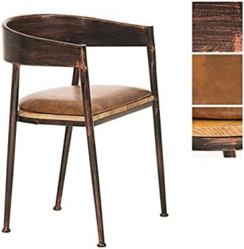 hoch zur ck metall esszimmer st hle m belideen. Black Bedroom Furniture Sets. Home Design Ideas