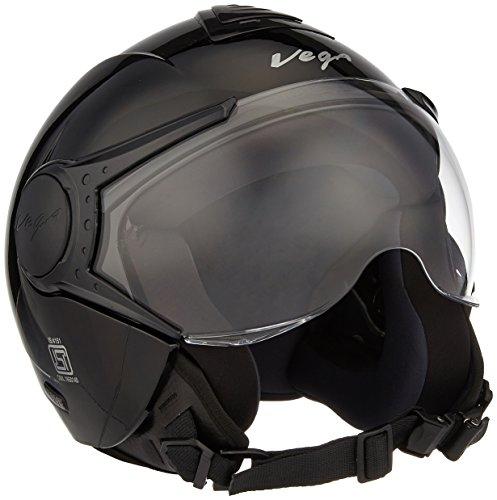 Vega Verve Open Face Helmet (Women's, Black, S)