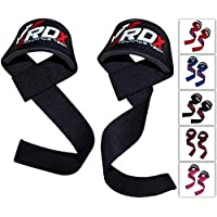 RDX Weight Lifting Gym Straps Crossfit Wrist Support Wraps Hand Bar Bodybuilding Training Workout