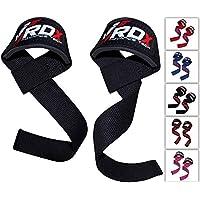 RDX Zughilfen Bodybuilding Handgelenkbandage Krafttraining Fitness Gewichtheben Zughilfe Fitness Klimmzughaken Straps