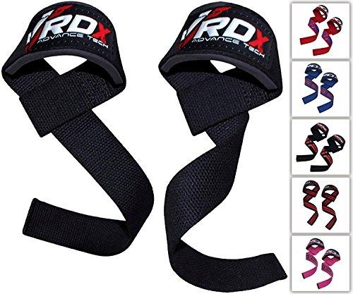 RDX Fasce Polsi Palestra Fitness Cinghie Sollevamento Pesi Peso Supporto Bodybuilding