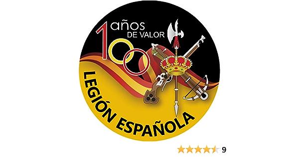 Artimagen Aufkleber Kreis Spanische Legion 100 Jahre Wert Ø 50 Mm Auto