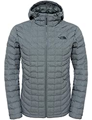 The North Face M Thermoball Hoodie - Chaqueta con capucha para hombre, color gris, talla XXL