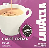 Lavazza A Modo Mio Caffè Crema Dolce, 2 x 16 Kapseln, 2er Pack (2 x 128 g)