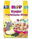 Hipp Bio-Müesli, Kinder Frühstücks-Ringe, 5er Pack (5 x 135 g)