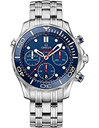 Omega hombre-reloj cronógrafo automático acero inoxidable 21230445003001