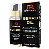 #8: Man Arden Beard & Mustache Oil - The Island Emperor (Energizing) - With Jojoba, Almond, Avocado Oil 50ml