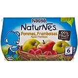 Blottir Naturnes Pomme Et Framboise (6 Mois) 4 X 130G - Paquet de 2