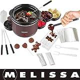 Melissa 16310178 Set à Fondue Chocolat