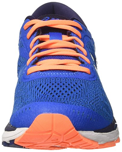 Asics Herren Gel-Kayano 24 Laufschuhe Blau (Directoire Blue / Peacoat / Hot Orange)