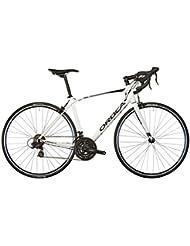 Orbea delantero H70–Bicicleta de carretera–blanco 2017para bicicleta de carretera Carbono, color white-black-blue, tamaño 51 cm