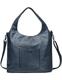 Zahara Lady Handbags Pu Leather Large Designer Hobo Tote Bags Shoulder Satchel Messenger Purse For Women Girls...