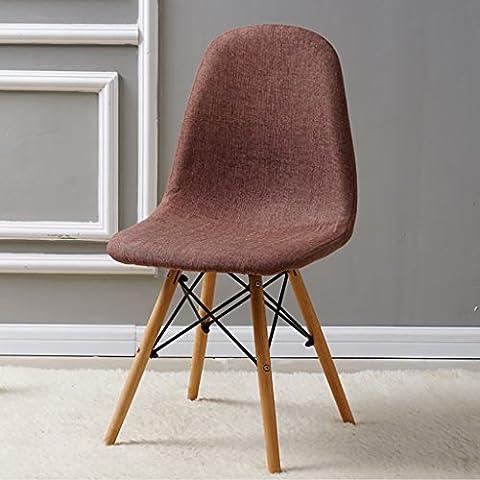 Chair Tissu Chaise Chaise Armure Chaise Tabouret Simple Européenne Chaise