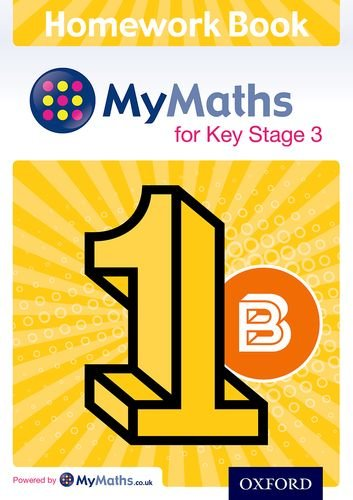 Mymaths for Ks3 Homework Book 1b Single