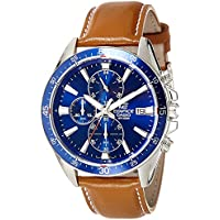 Casio Edifice Analog Blue Dial Men's Watch - EX250