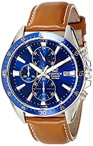 Casio Edifice Analog Blue Dial Men's Watch - EFR-546L-2AVUDF (EX250)