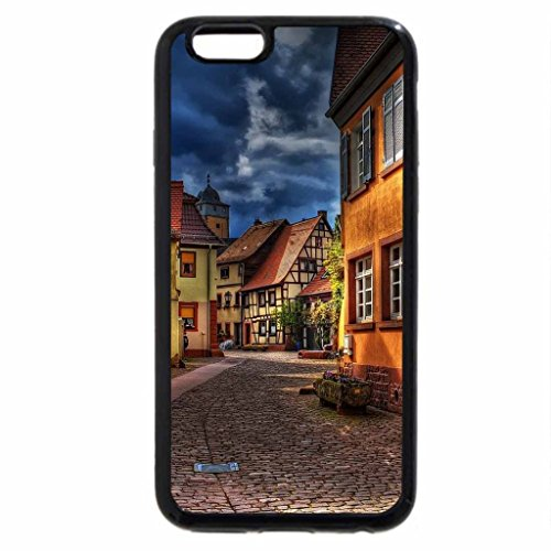 iPhone 6S / iPhone 6 Case (Black) beautiful side street in town