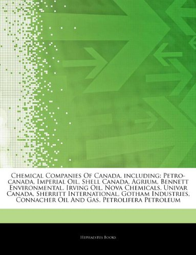 articles-on-chemical-companies-of-canada-including-petro-canada-imperial-oil-shell-canada-agrium-ben