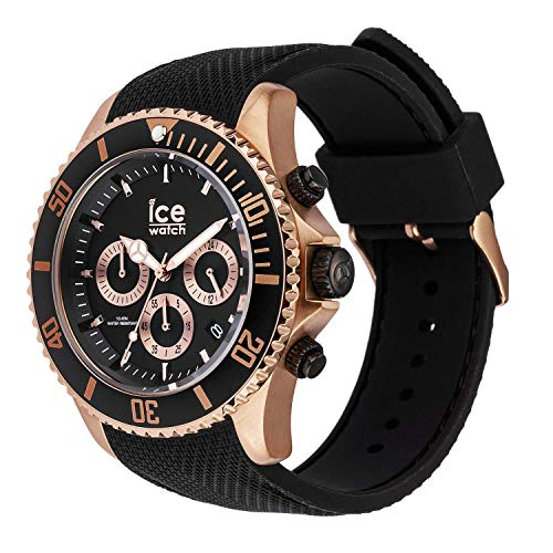 Ice-Watch Mens Chronograph Quartz Watch with Silicone Strap 016305