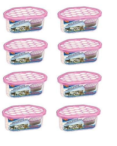 8 x Luftentfeuchter Entfeuchter Granulat Raumentfeuchter Lufterfrischer Deo Auto