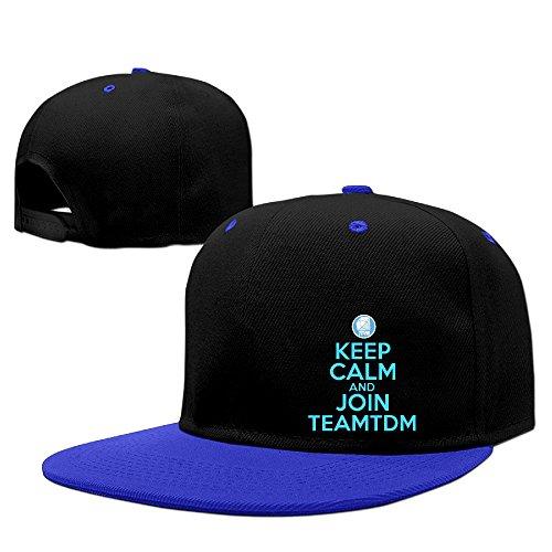 teenmax-unisex-keep-clam-and-join-dan-team-tdm-hip-hop-baseball-caps