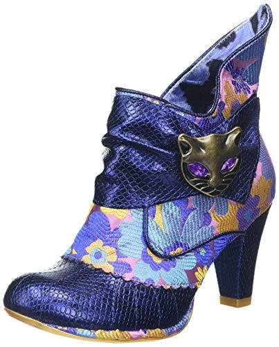 IRRA4|#Irregular Choice Miaow, Botines para Mujer, Blue AX, 5 EU