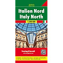 Italien Nord, Autokarte 1:500 000, Freytag Berndt Autokarten,