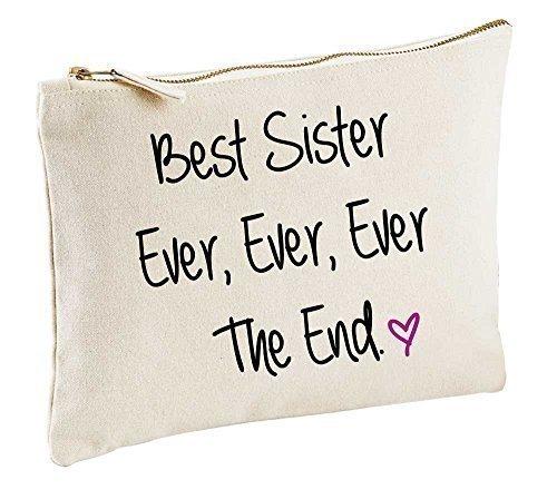 meilleur Sister Jamais Jamais Jamais The End naturel Trousse de Maquillage cadeau idée produits cosmétiques Sac articles de toilette
