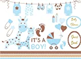 Baby Shower Guest Book for Boy: Baby Guest Book Shower,Welcome Baby Message Book,Advice for Parents and Wishes for baby,Comments or Predictions: Volume 2 (Baby Shower Guest Book Boy)