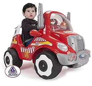 injusa 7137 v hicule lectrique camion de pompier 6 v jeux et jouets. Black Bedroom Furniture Sets. Home Design Ideas