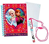 alles-meine.de GmbH Notizbuch / Tagebuch - mit Stift -  Disney die Eiskönigin - Frozen  - Buch / Heft - gebunden / Ringbindung für Geheimnisse Reisetagebuch / liniert Hardcover..
