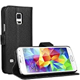 Samsung Galaxy S5 Mini Hülle - EnGive Ledertasche