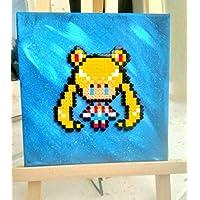 Pinturas/tablero Sailor Moon beads/Pixel Art
