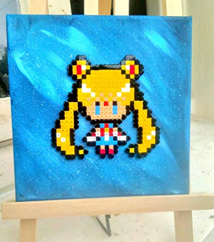 Sailor Tabelle (Tabelle Sailor Moon/Hama beads/Pixel Art)