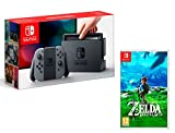 Nintendo Switch 32Gb Gris + The Legend of Zelda: Breath of the Wild