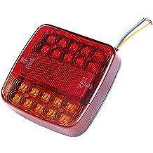 QXXZ 12V Hinten Stop LED Lichter R/ückleuchte Anh/änger LKW
