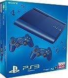 PlayStation 3 - Konsole Super Slim 500 GB blau (inkl. 2 DualShock 3 Wireless Controller blau) Bild