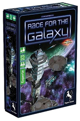 Pegasus Spiele 53021G - Race for the Galaxy, 2.Edition (The For Galaxy-brettspiel Race)