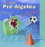 Pre-Algebra, Teacher's Edition by Ron Larson (2004-01-16)