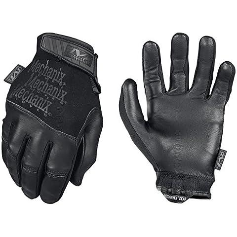 Mechanix Recon Guante Negro, color negro, tamaño L