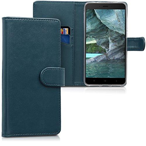 kwmobile Xiaomi Redmi Note 4 / Note 4X Hülle - Kunstleder Wallet Case für Xiaomi Redmi Note 4 / Note 4X mit Kartenfächern und Stand - Handyhüllen (Xiaomi, Redmi Note 4/Note 4X) -