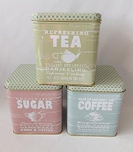 Sunny jours boîtes Thé Café et sucre