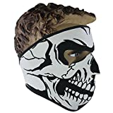 Bibabo25 Anti Dust Keep Warm Skull Full Face Mask Outdoor Sports Motorcycle Riding Cycling Skiing