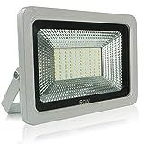 Faretto da Esterno e Interno 50W LED Faro Faretto a Luce Proiettore Impermeabile IP65 Illuminazione Bianca Caldo