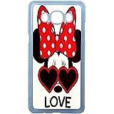 Lapinette COQUE-J7-2016-MINNIE-LOVE - Funda para Samsung Galaxy J7, diseño de Disney Minnie Love