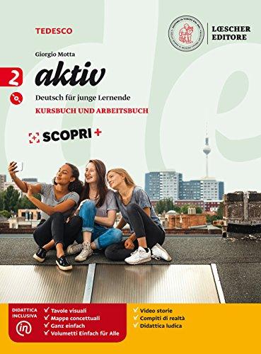 Aktiv. kursbuch und arbeitsbuch. per la scuola media. con e-book. con espansione online. con cd-audio: aktiv. deutsch fur junge lernende. kursbuch. arbeitsbuch. volume 2. con cd mp3 [lingua tedesca]