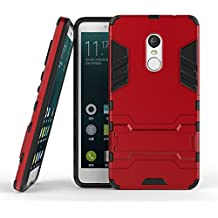 Casefirst Xiaomi Redmi Note 4 Case, Cover Rubber Bumper Unique Style Cover Protector Anti-Scratch Shockproof Case Protective Cover - Red